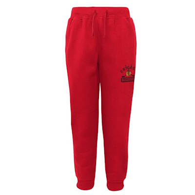 (Outerstuff Chicago Blackhawks Pro Game Sweatpants - Youth)