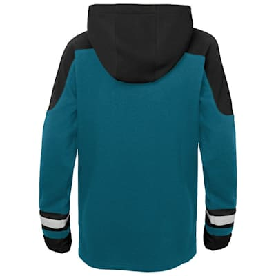 (Adidas Ageless Must Have Hoodie - San Jose Sharks - Youth)