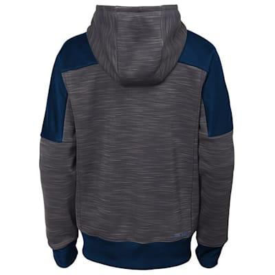 (Adidas St. Louis Blues Sleek Essentials Full Zip - Youth)