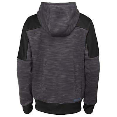 (Adidas Boston Bruins Sleek Essentials Full Zip - Youth)