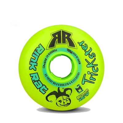 (Rink Rat Trickster X Grip Inline Hockey Wheel)