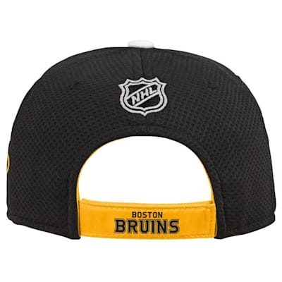 (Adidas Boston Bruins Blueline Structured Adjustable Hat - Youth)