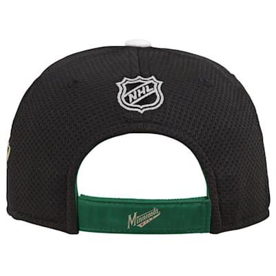 (Adidas Minnesota Wild Blueline Structured Adjustable Hat - Youth)