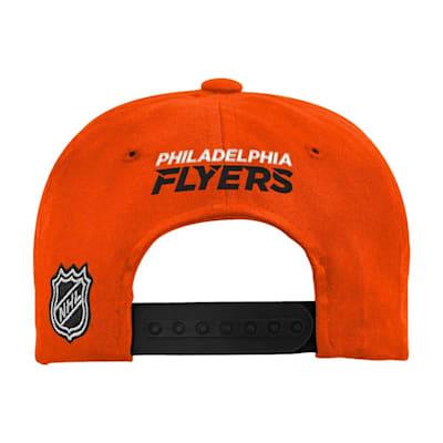 (Adidas 2 Tone Flat Brim Hat Philadelphia Flyers - Youth)