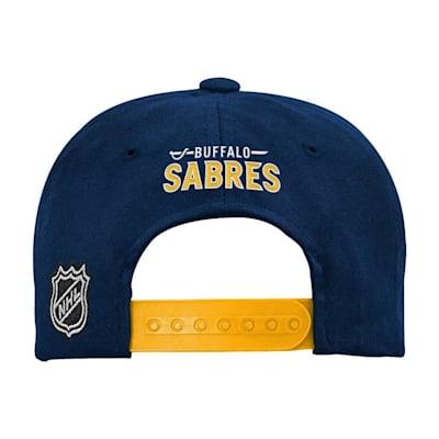 (Adidas 2 Tone Flat Brim Hat Buffalo Sabres - Youth)