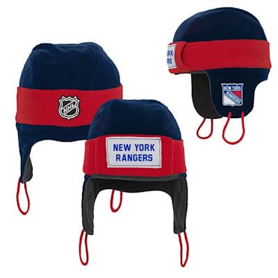 (Adidas NY Rangers Hockey Helmet Hat - Youth)