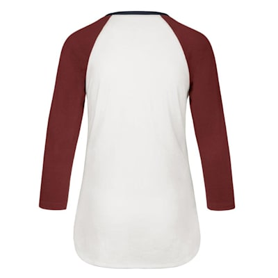 (47 Brand Hollow Stack Raglan Tee Colorado Avalanche - Womens)
