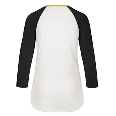 (47 Brand Hollow Stack Raglan Tee Pittsburgh Penguins - Womens)