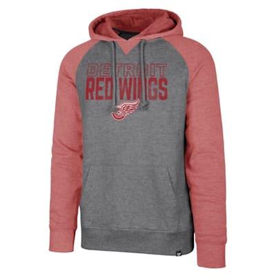 (47 Brand Detroit Red Wings Match Raglan Hoody - Adult)