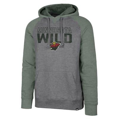 (47 Brand Minnesota Wild Match Raglan Hoody - Adult)