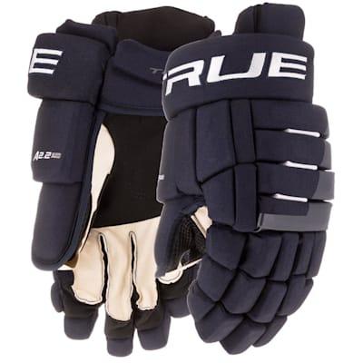 (TRUE A2.2 Hockey Gloves - Junior)