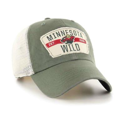 (47 Brand Crawford Clean Up Cap - Minnesota Wild - Adult)