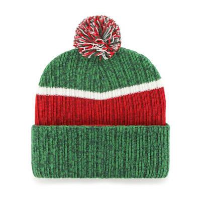 (47 Brand Holcomb Pom Knit Hat - Minnesota Wild - Adult)