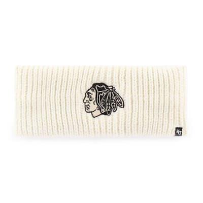 (47 Brand Womens Meeko Headband - Chicago Blackhawks - Adult)