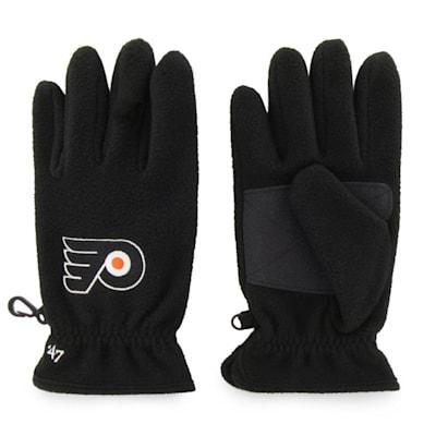 (47 Brand Philadelphia Flyers Fleece Glove - Adult)