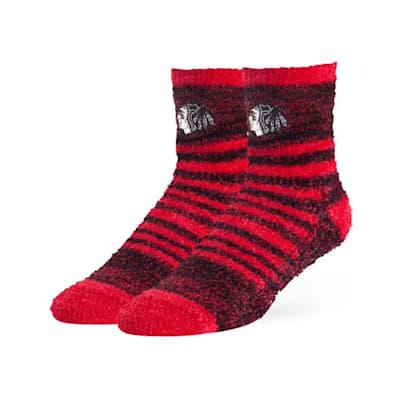 (47 Brand Snug Fuzzy Sock - Chicago Blackhawks - Adult)
