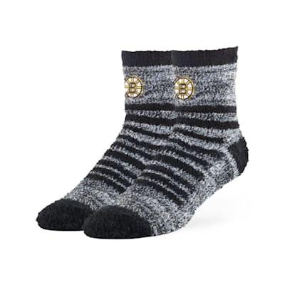 (47 Brand Snug Fuzzy Sock - Boston Bruins - Adult)
