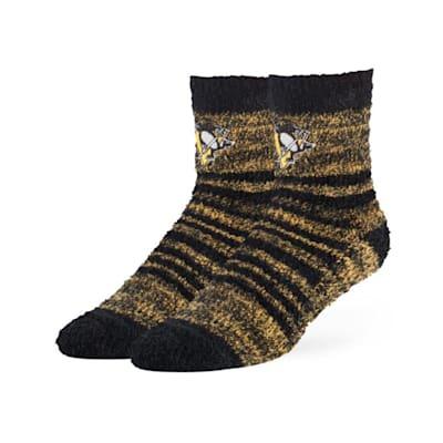 (47 Brand Snug Fuzzy Sock - Pittsburgh Penguins - Adult)