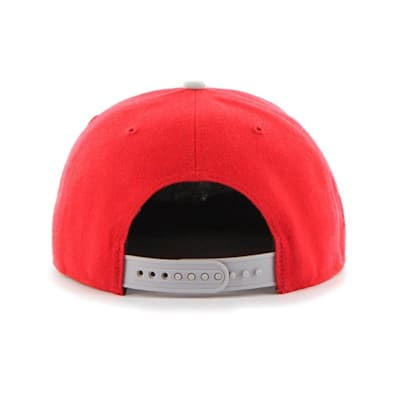 (47 Brand Detroit Red Wings Sure Shot Two Tone Snapback Cap - Adult)