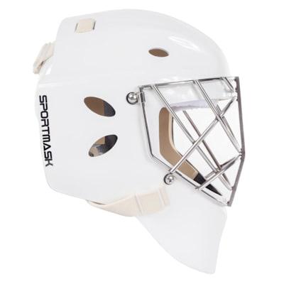 (SportMask T3 Non-Certified Cat Eye Goalie Mask - Senior)