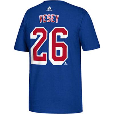(Adidas NY Rangers Vesey Tee - Youth)