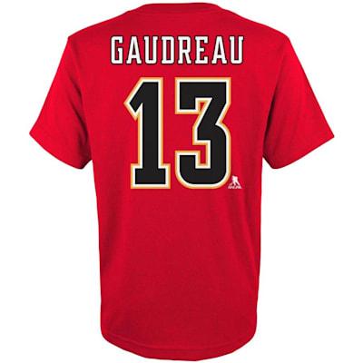 (Adidas Calgary Flames Gaudreau Tee - Youth)