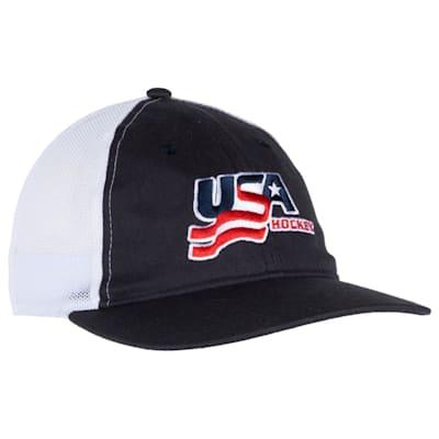 (USA Hockey Meshback Cap - Adult)