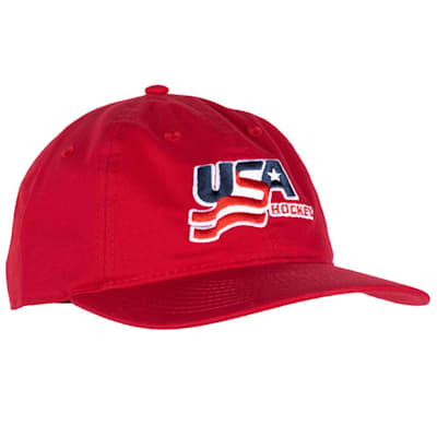(USA Hockey Adjustable Dad Cap - Adult)