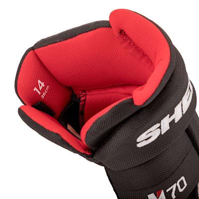 (Sher-Wood REKKER M70 Hockey Gloves - Junior)