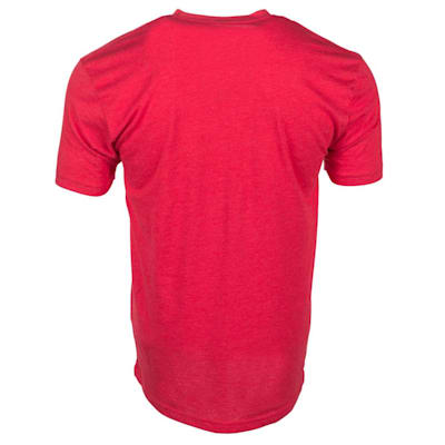 Red Back (USA Hockey Short Sleeve Tee Shirt - Adult)