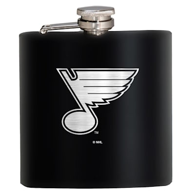 (St. Louis Blues Stainless Steel Flask)