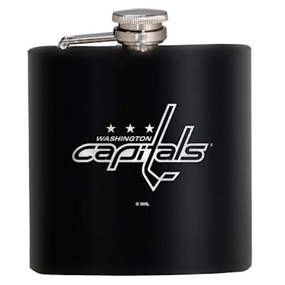 (Washington Capitals Stainless Steel Flask)