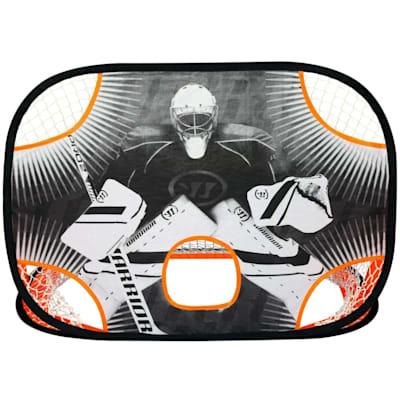 (Warrior Pop-up Mini Hockey Net w/ Sticks and Ball)