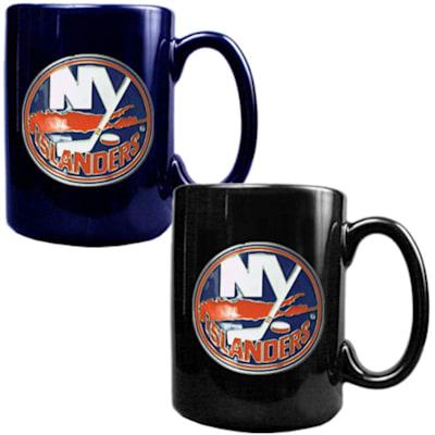 (New York Islanders 15 oz Ceramic Mug Gift Set)