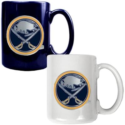(Buffalo Sabres 15 oz Ceramic Mug Gift Set)