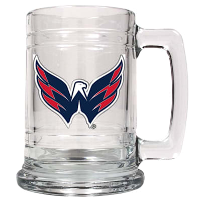 (Washington Capitals 15 OZ Classic Glass Mug)