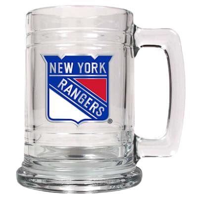 (New York Rangers 15 OZ Classic Glass Mug)