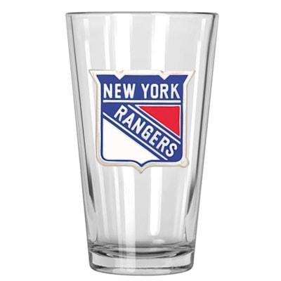 (New York Rangers 16oz Pint Glass)