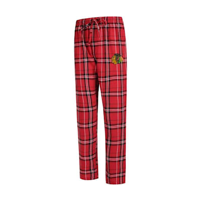 (Hillstone Flannel Pant Chicago Blackhawks - Adult)