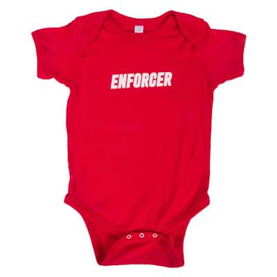 Front (Enforcer Baby Onesie - Infant)