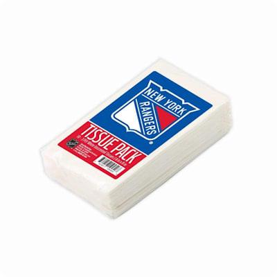 (New York Rangers NHL Tissue Packet)