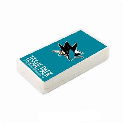(San Jose Sharks NHL Tissue Packet)