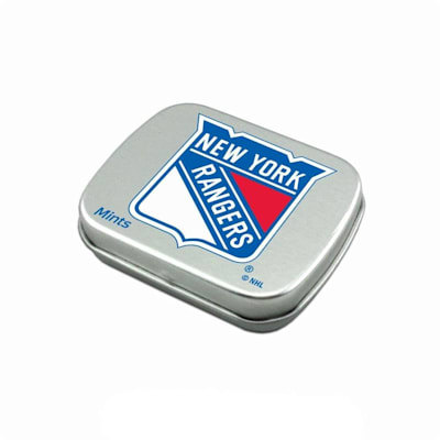 (NHL Breath Mints Tin - New York Rangers)