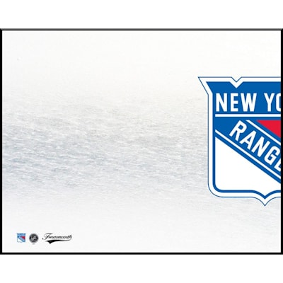 (Frameworth New York Rangers 8x10 Dry Erase Plaque)