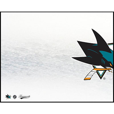 (Frameworth San Jose Sharks 8x10 Dry Erase Plaque)