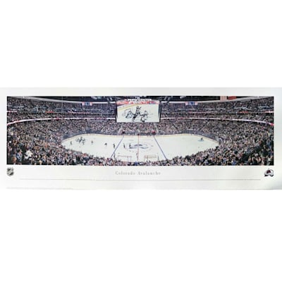 (Frameworth Colorado Avalanche Panoramic Picture)