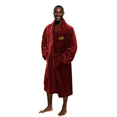 (Chicago Blackhawks Silk Touch Robe)