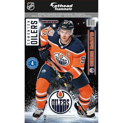 (Fathead NHL Teammate Edmonton Oiliers Connor McDavid Wall Decal)