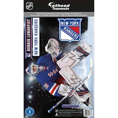 (Fathead NHL Teammate New York Rangers Henrik Lundqvist Wall Decal)