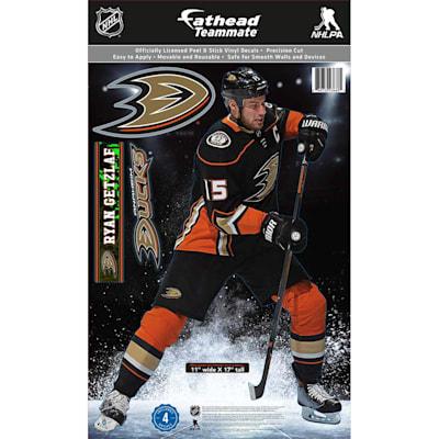 (Fathead NHL Teammate Anaheim Ducks Ryan Getzlaf Wall Decal)